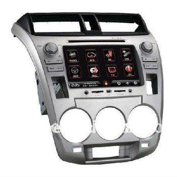 2 Din 7 inch HD touch screen Car DVD Player for Honda City 1.5L(Analog) /1.8L(digital) (2008-2011) Multi Language