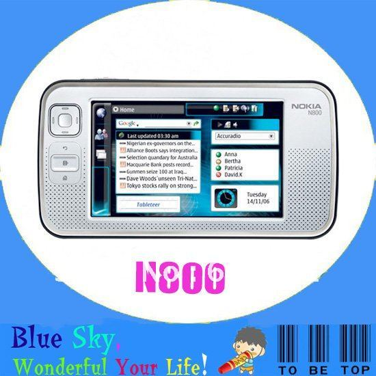 New arrive original Table PC phone nokia n800 4.13 inch touch screen wifi bluetooth mp3 mp4 player(China (Mainland))
