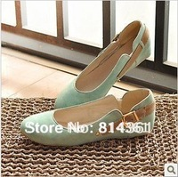 Best selling! 2012 Elegant Fashion Ladies Flats Ballet flats Women flat shoes women Free shipping 1pair