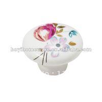 Special offer bargin kids dresser wardrobe knobs ceramic cupboard knob cabinet drawer knob kitchen handle R09