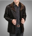 Free shipping !! 2012 New Men's Brand Winter fashion Genuine leather sheepskin Locomotive leather Jacket Coat / M-XXXL