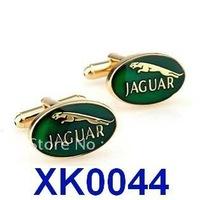 Free shipping!   Jaguar Car Sign Shape Cufflinks. men's cuff link    XK0044