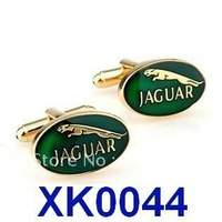 Free shipping!   Jaguar Car Sign Shape Cufflinks. men's cuff link    XK0044