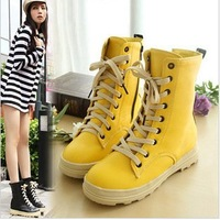 2012 boots sweet fashion elevator platform shoes boots martin boots snow boots women's shoes winter boots