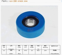 Escalator step roller 70*25 6204 for anlev SRT02025, Blue color roller, Free shipping by Fedex