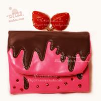 Tsumori chisato summer strawberry wallet -