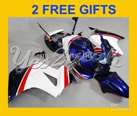 ABS fairing for VFR800 Interceptor 02-07 VFR 800rr 2002 2007 VFR800 02 03 04 05 06 07 blue AY15
