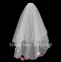 Wholesale - White &ivory  WEDDING Bridal veils     GJ-0066