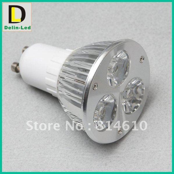 VIA DHL LED Spotlight GU10 3X2W 6W Replacement 100W Wholesale(China (Mainland))