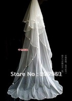 Wholesale - White &ivory  WEDDING Bridal veils   GJ-0080