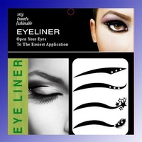 12 stlyes  choosen 4pair/pack 5pack /lot black Eyeliner sticker Eye rock   Wholesale Retail