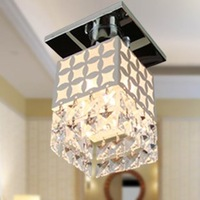 Bright Modern Crystal Ceiling Light Fixture Pin Lamp Lighting Prizm