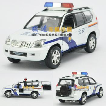TOYOTA parados public security police acoustooptical WARRIOR alloy car model toy