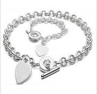 DFS171 // new promotion 925 silver plated sets, 925 Silver jewelry, Silver sets Wholesale Free shipping