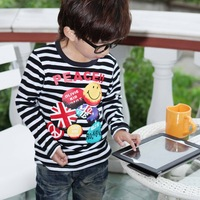 Wholesale!!! color zebra  t-shirt Baby  Long sleeve sweatshirts  Kids fashion wear clothing 4pcs/lot+Freeshipping