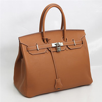 2013Fashion leather handbag size, free shipping