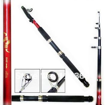 Free Shipping High Quality plexiglass 2.1m/2.4m/2.7m 5 segments japanese fishing pole rod fishing