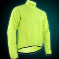 2012 New Cycling Waterproof bike Jacket Bike Rain Coat Bicycle Windproof Jersey bike clothes Men fluorescence green