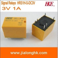 Free Shipping --Signal Relays HRS1H-S-DC3V 3V 1A   HRS1H-S  HKE  ROHS Lead Free - New and original