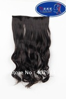 """wholesale One Piece Synthetic Hair synthetic hair extensions 100g/pc 20"""" (50cm)Colors: 1B off black"""