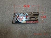 taiwan RRGS original aluminum sticker trumpet