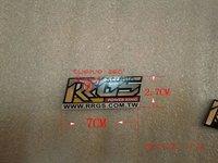 taiwan RRGS original aluminum sticker medium