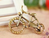 Restore ancient ways diamond brooch/bicycle alone praise/corsage South Korea accessories/pin