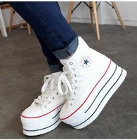 Free shipping women platform shoes Canvas Shoes#8622