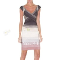 Вечернее платье In stock s Sexy Ladies' Bodycon Bandage Dress H061 Party Evening Dress