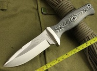 Saber AUS - 8 a high hardness steel  keel one sword fish small straight knife