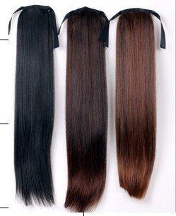 Cute Black/Brown Ponytail Hair Piece Extensions Ponytail