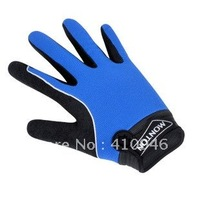 Professional 2012 Blue MONTON Cycling/Bike Full Finger Gloves-FG002 Free Shipping!