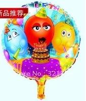 Free shipping Foil balloons party balloon pearl aluminium foil balloon, Wholesale#Retail 100pcs a lot