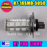 5050SMD*18,auto fog lamp for h7 LED car light/festoon light in wholesale & retail White/Blue Colors  ID221104