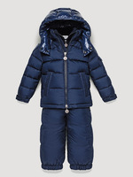2013 winter children's clothing down coat baby down coat male child set