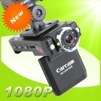H.264 HD 1920*1080P Car camera dvr carcam + 120 degree angle+ 2-led flash light + HDMI out + 8-LED IR led light for Night vision