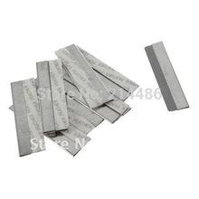 10 Pcs Nail Art Hot Selling Platinum Coated Edge Cut Blade for Fimo Canes(China (Mainland))