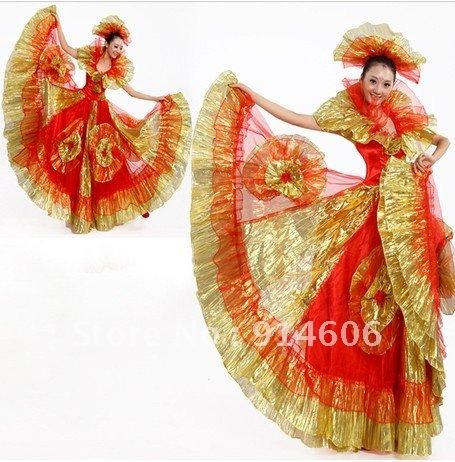 Dress modern dance suit