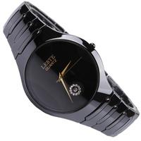 Free Shipping Leste ceramic watch ceramic lovers watch ultra-thin waterproof quartz watch lb9806