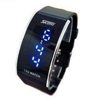 Free Shipping Led waterproof watch lovers male watch submersible watch