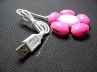 4 Port USB 1.1  High Speed Flower Hub PC Laptop