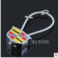 Crystal male auto keychain pattern birthday practical gifts