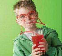 Best selling!! plastic DIY drinking straw eyeglasses silly straw glasses amazing straw glasses Free shipping,10 pcs/lot