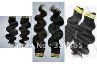 "For Sample!! 12""-20"" Peruvian hair Remy Human Machine Weft Hair 100g/pcs 1pc FREE Shipp HWT501   Sample 18 Inch      1 Piece"