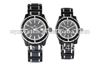 2012 New Promotion Gift Ceramic Quartz Watch with Swiss movt