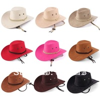 Cowboy hat the spring and autumn period and the men and women outdoor leisure topi free shipping