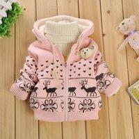 Winter kids Girl Hoodies ,Children 1-4 years, Baby Clothes &Outwear, Sweatshirt, jacket. wear Jacket. Free Shipping