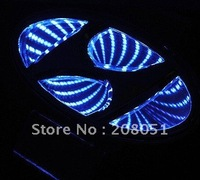 Hyundai IX35 logo light 3D led rear Emblems lighting  LED light, led logo Car Stickercar badge car Emblems