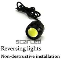 Car Reverse LED Lights 3W High Power Auto Tail Lights Super bright Rogue Hawkeye Lamps White