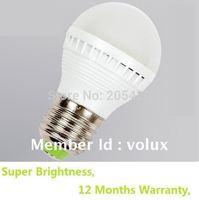 LED bulb 3W e27 ball bulb downlight household light bulb round shape nondimmable